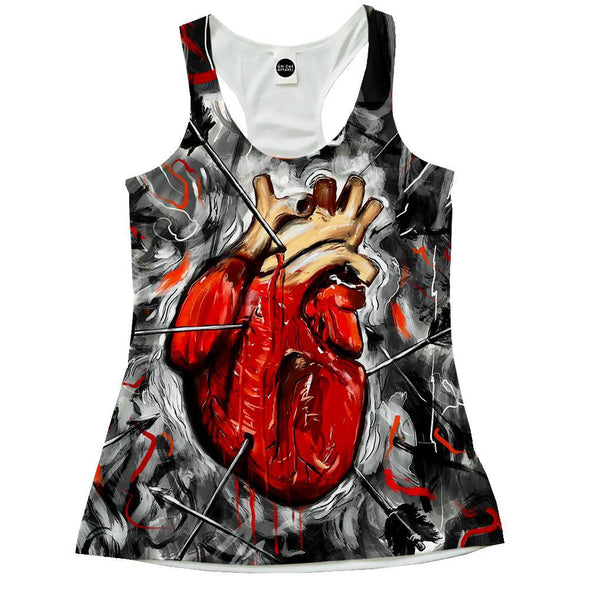 Heart And Arrows Racerback