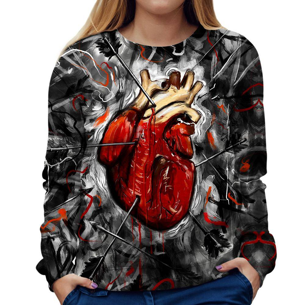 Heart Womens Sweatshirt