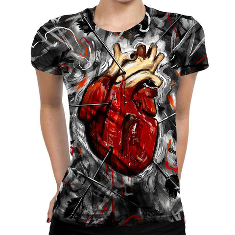 Image of Heart Womens T-Shirt