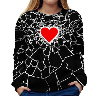 Heartbreaker Womens Sweatshirt