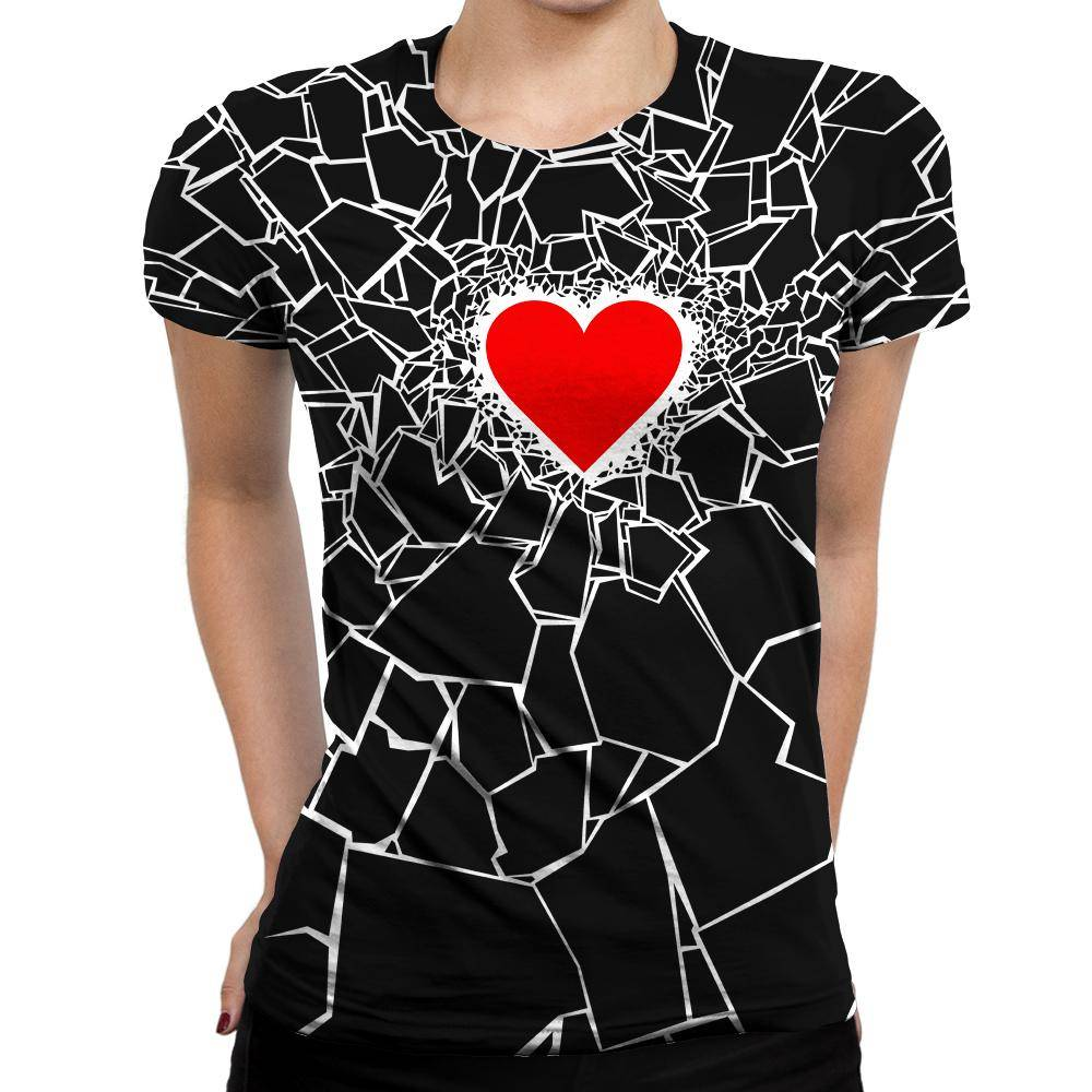 Heartbreaker Womens T-Shirt