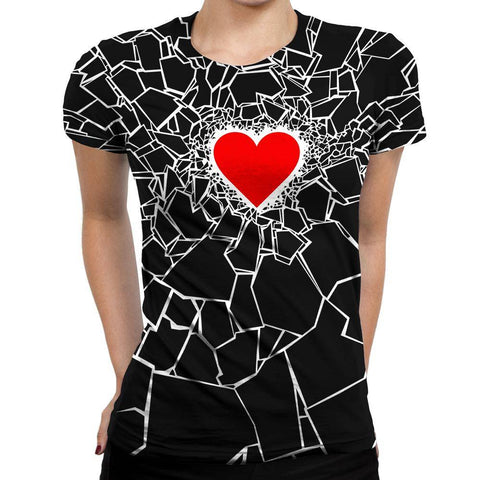 Image of Heartbreaker Womens T-Shirt
