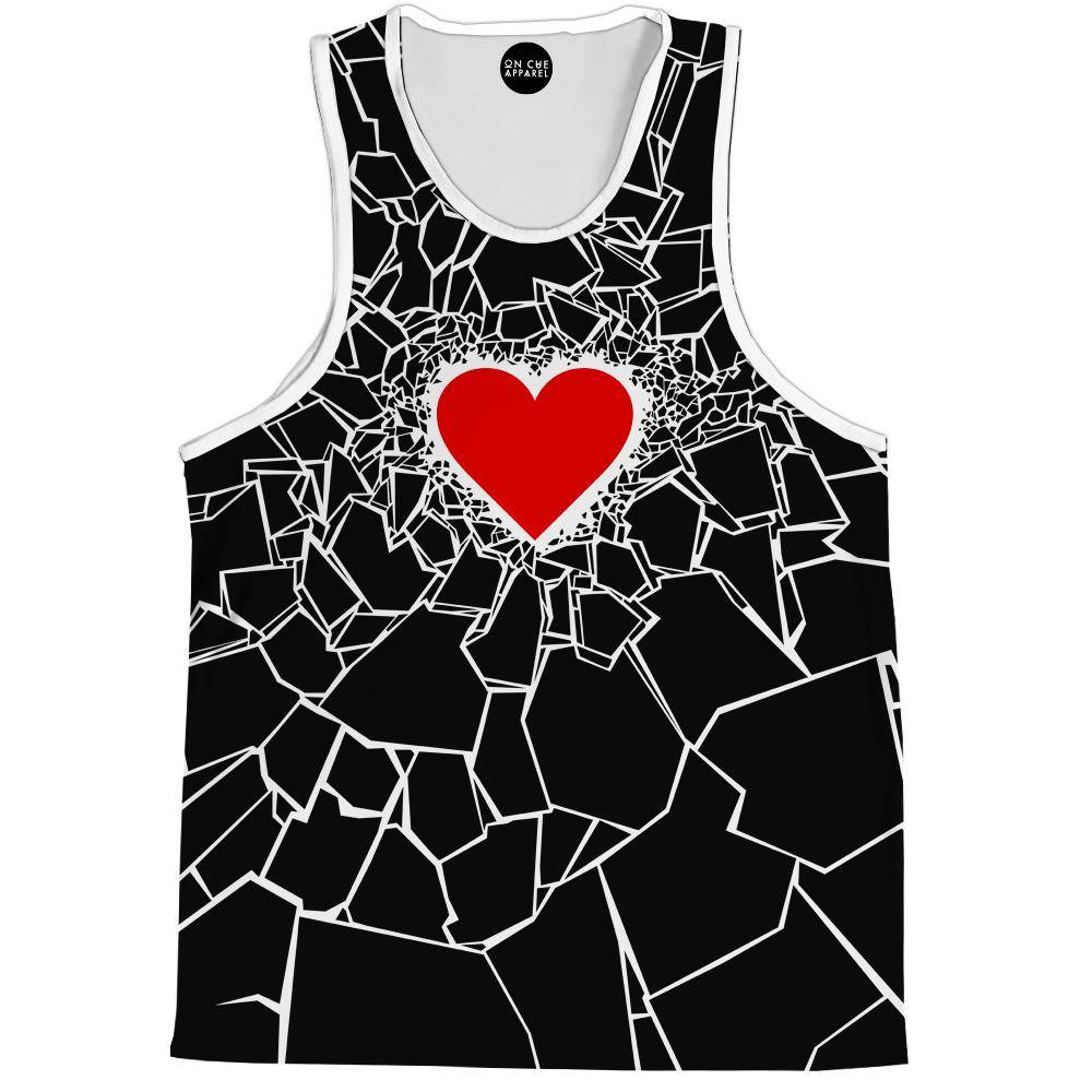 Black Heartbreaker Tank Top