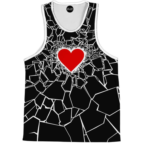 Image of Black Heartbreaker Tank Top