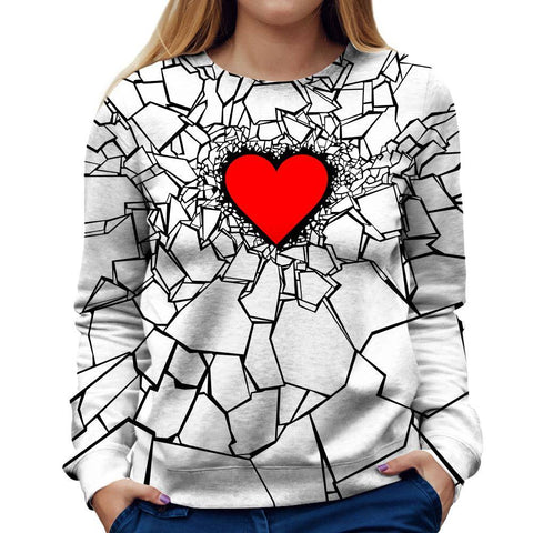 Image of Hearbreak Womens Sweatshirt