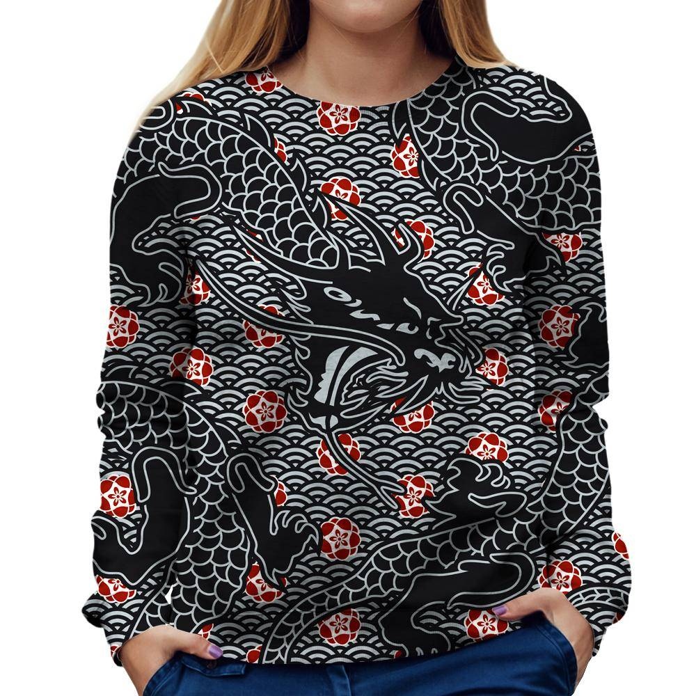Dragon Womens Sweatshirt