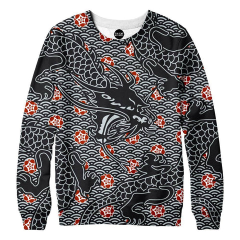 Image of Hidden Dragon Womens Sweatshirt
