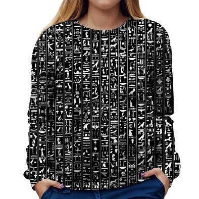 Hieroglyphics Womens Sweatshirt