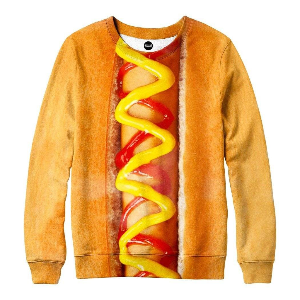 Hot Dog Sweatshirt