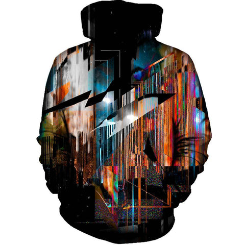 Inside Out Womens Hoodie