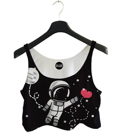 Interstellar Love Crop Top