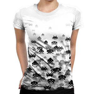 Invaded Womens T-Shirt