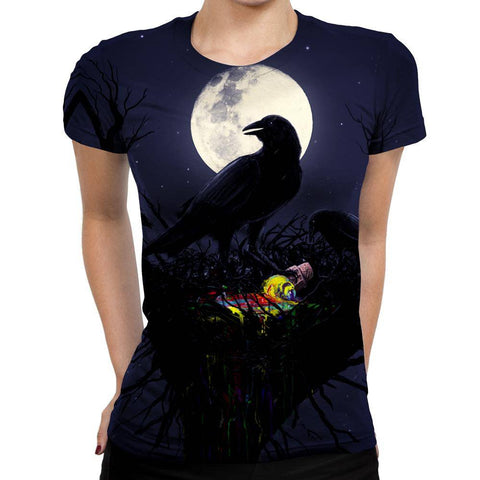 Crow Womens T-Shirt