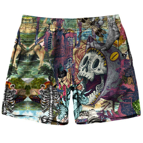 Image of Skull Shorts
