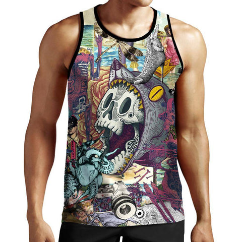 Image of Skull Tank Top