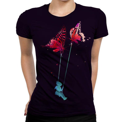 Butterfly Womens T-Shirt