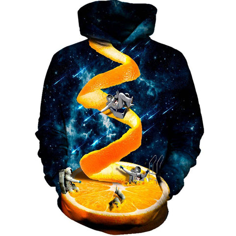 Image of Orange Hoodie