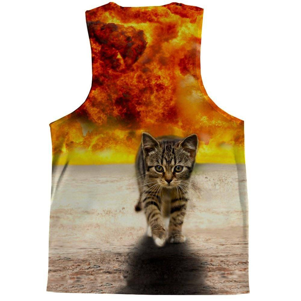 Kitty Explosion Tank Top