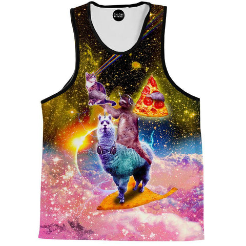 Llama And Sloths Epic Adventure Tank Top
