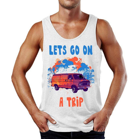 Let's Go On A Trip Tank Top