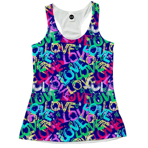 Image of Love Racerback
