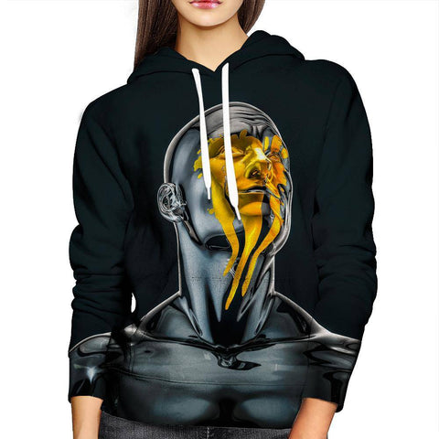 Image of Gold Womens Hoodie