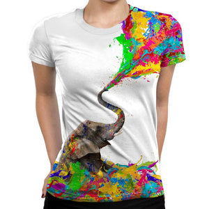 Elephant Womens T-Shirt