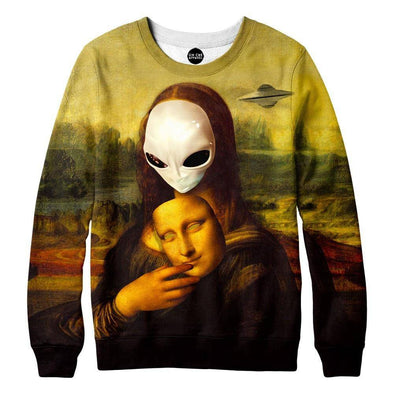 Alien Mona Lisa Sweatshirt