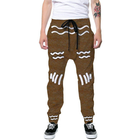 Image of Gingerbread Man Joggers