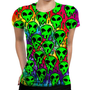 Martian Womens T-Shirt