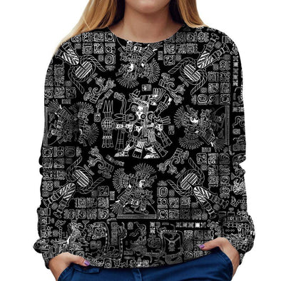 Mayan Womens Sweatshirt