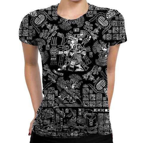 Image of Mayan Womens T-Shirt