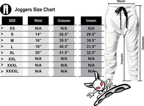Image of Skull Joggers