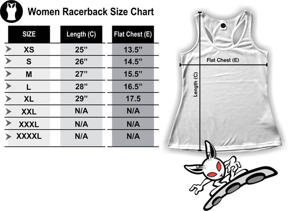 Hidden Dragon Racerback