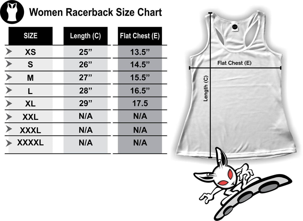 Deer Shapes Racerback