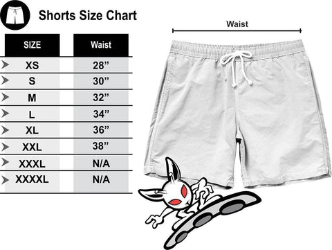 Image of Abstract Splatter Shorts