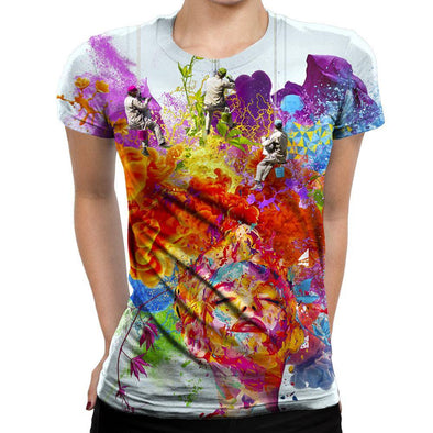 Surreal Womens T-Shirt