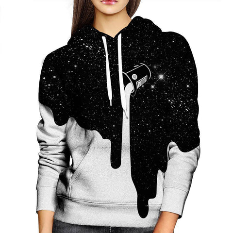 Image of Milky Way Womens Hoodie