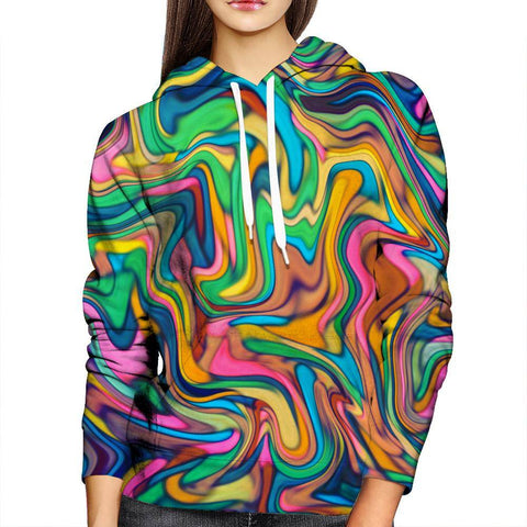 Image of Colors Womens Hoodie