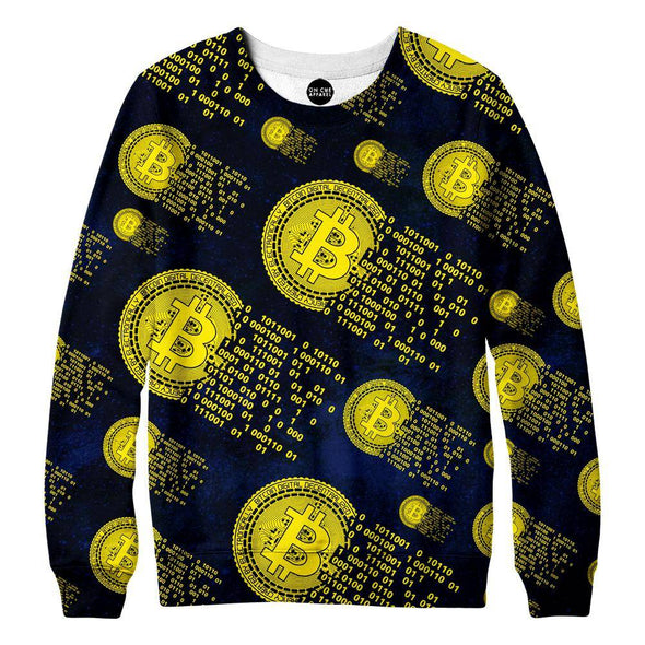 Booming Bitcoin Sweatshirt