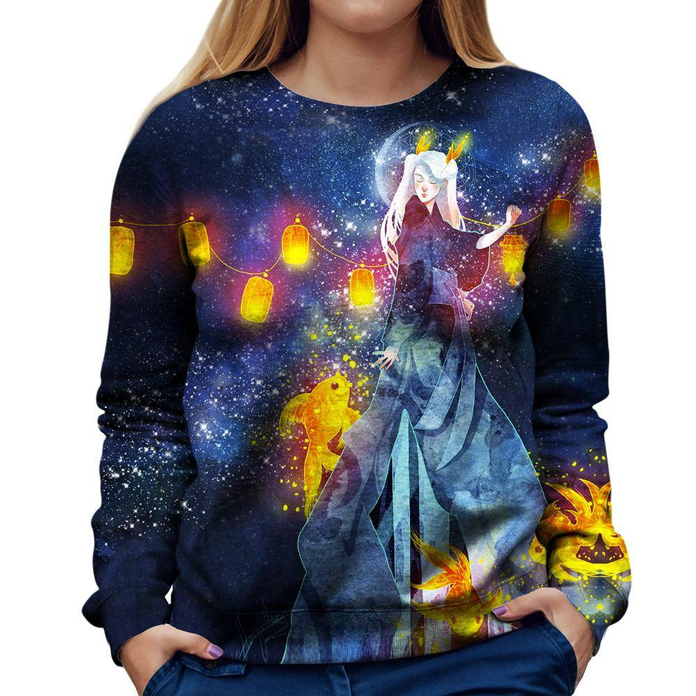 Moon Festival Womens Sweatshirt