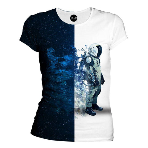 Image of Astronauts Are Always In Space Womens T-Shirt