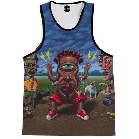 Image of Petitioning Papa Legba Tank Top