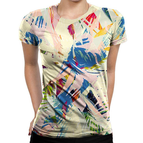 Palm Womens T-Shirt