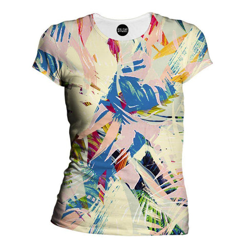 Palm Twist Womens T-Shirt