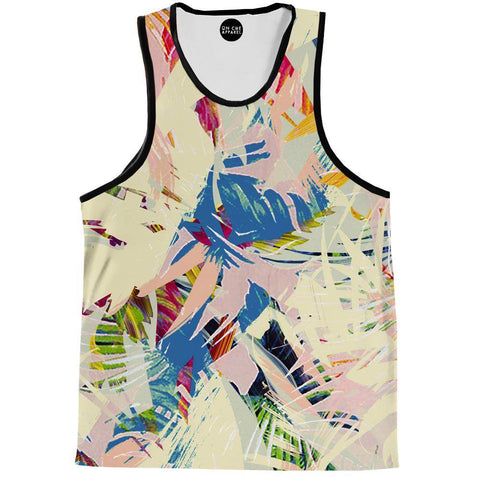 Palm Twist Tank Top