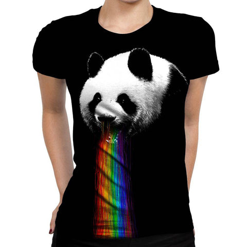 Image of Panda  Womens T-Shirt