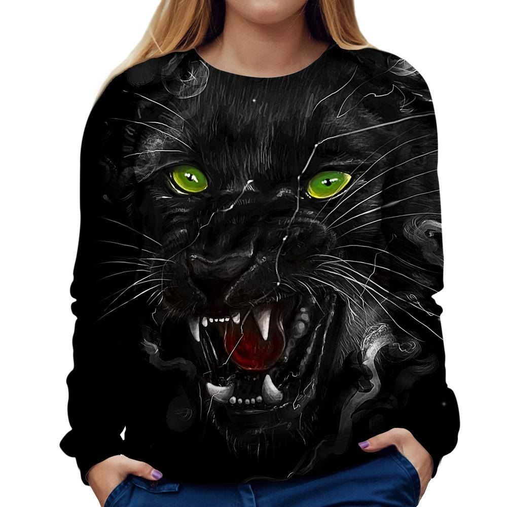 Panther Womens Sweatshirt