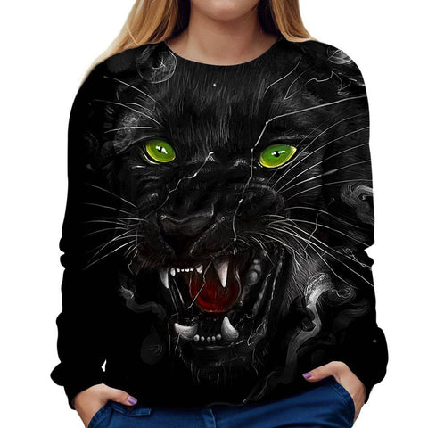 Image of Panther Womens Sweatshirt