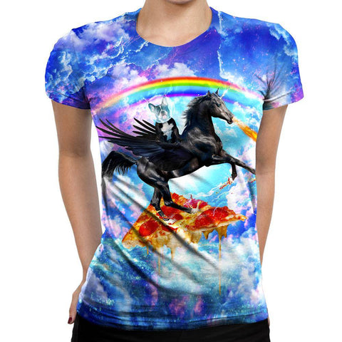 Image of Pegasus Womens T-Shirt